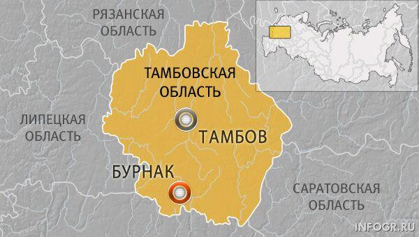 Село Бурнак в Тамбовской области