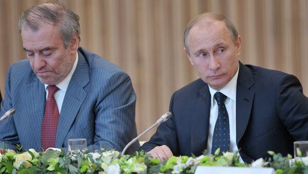 Встреча В.Путина с членами Попечительского совета Государственного академического Мариинского театра