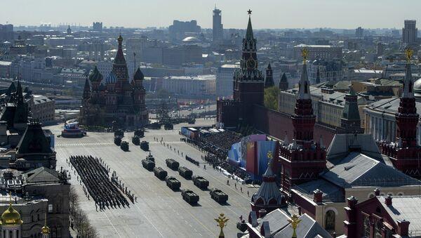 Генеральная репетиция парада Победы на Красной площади