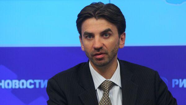 Министр по связям с Открытым правительством РФ Михаил Абызов. Архивное фото