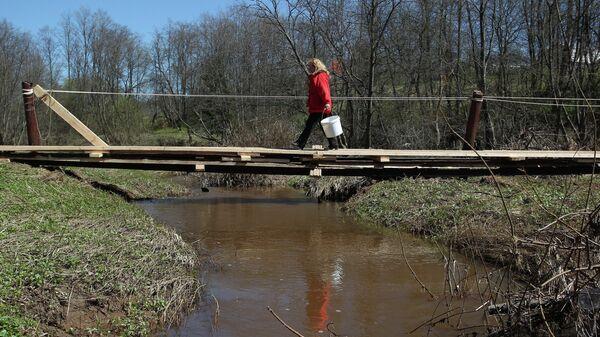 Паводок в Истринском районе Московской области