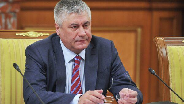Министр внутренних дел РФ Виктор Колокольцев. Архив