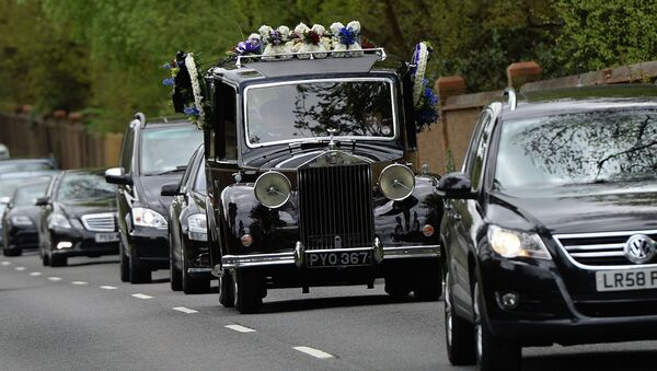 Похороны бизнесмена Бориса Березовского в Великобритании, архивное фото