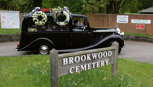 Похороны бизнесмена Бориса Березовского в Великобритании. Архивное фото