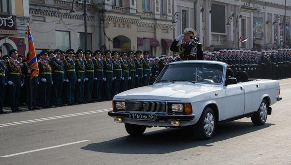 Парад Победы во Владивостоке-2013