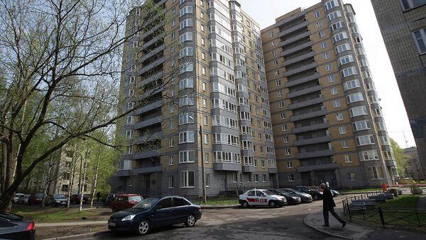 Дом в Санкт-Петербурге, в котором было совершено двойное убийство