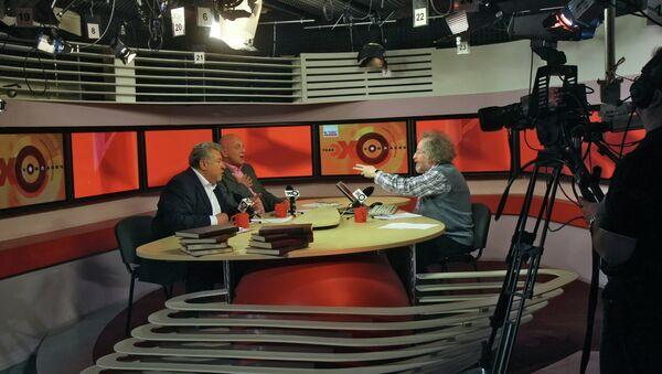 Работа радиостанции Эхо Москвы