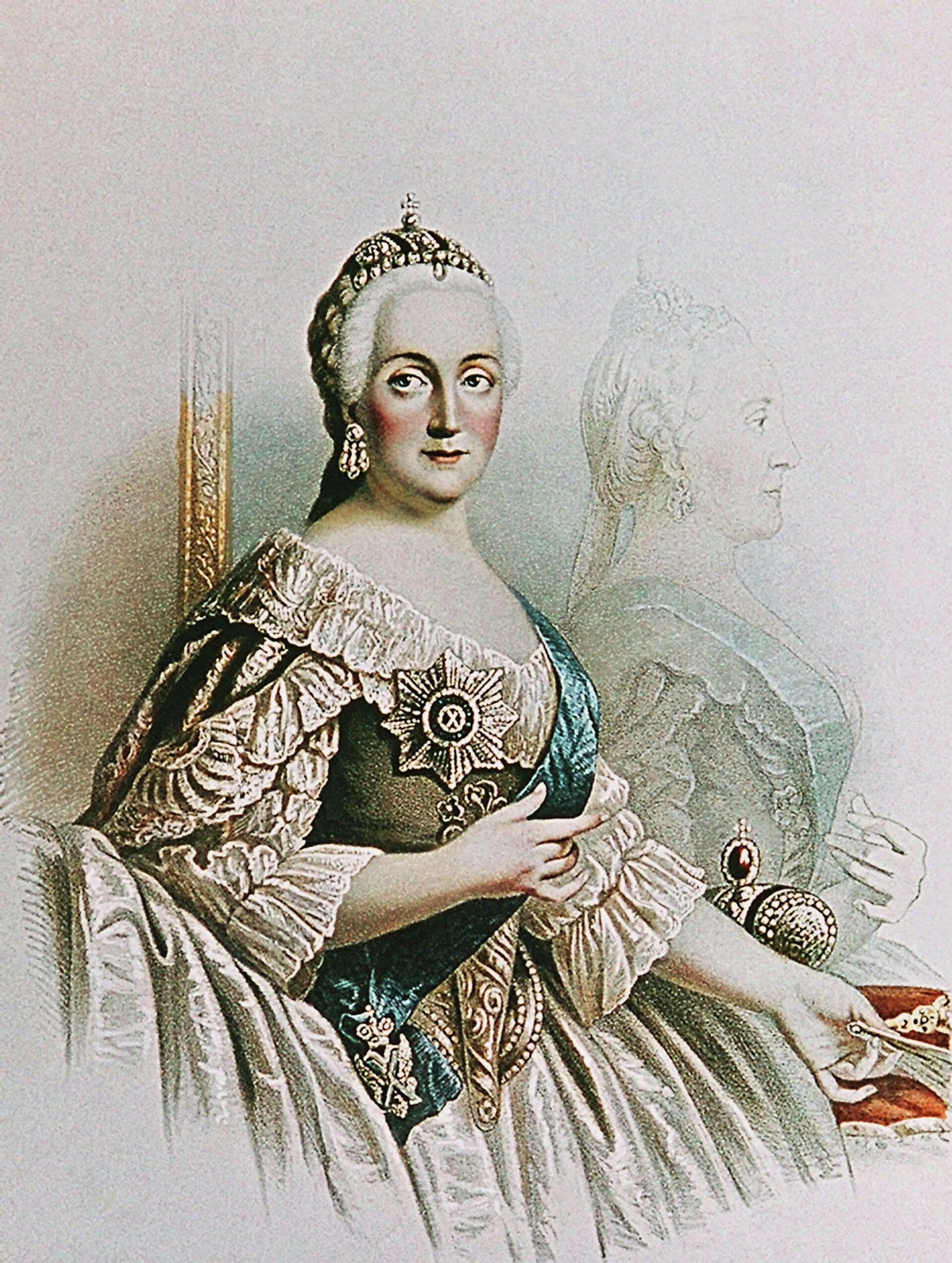 Императрица Екатерина Вторая - РИА Новости, 1920, 10.01.2021