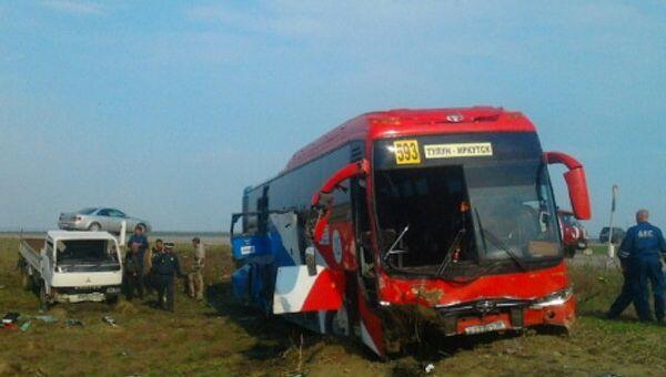 Двадцать человек пострадали в ДТП с автобусом в Иркутской области