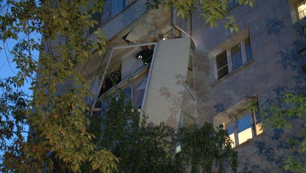 Последствия взрыва газа в доме на юго-западе Москвы. Кадры с места ЧП