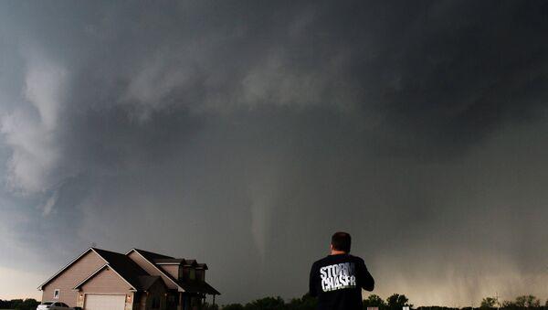 Торнадо в штате Канзас, США