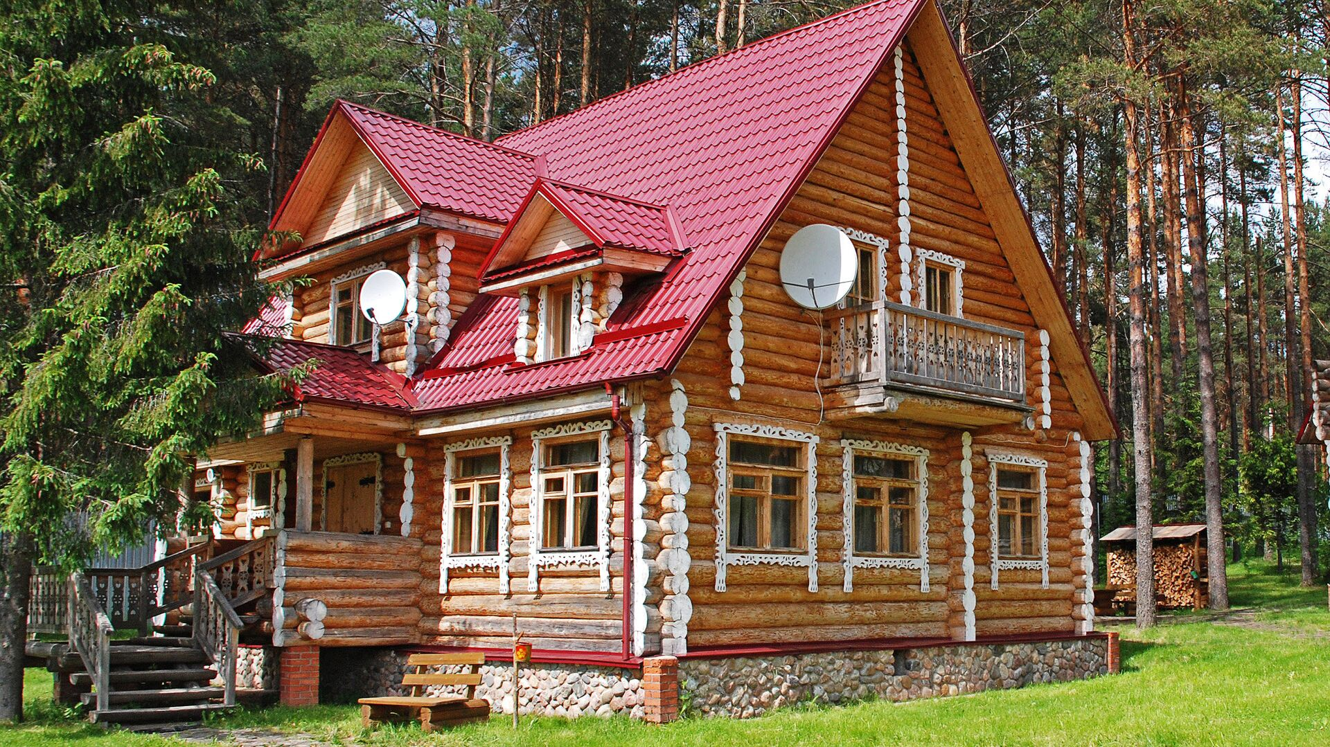 Загородный дом - РИА Новости, 1920, 14.07.2021