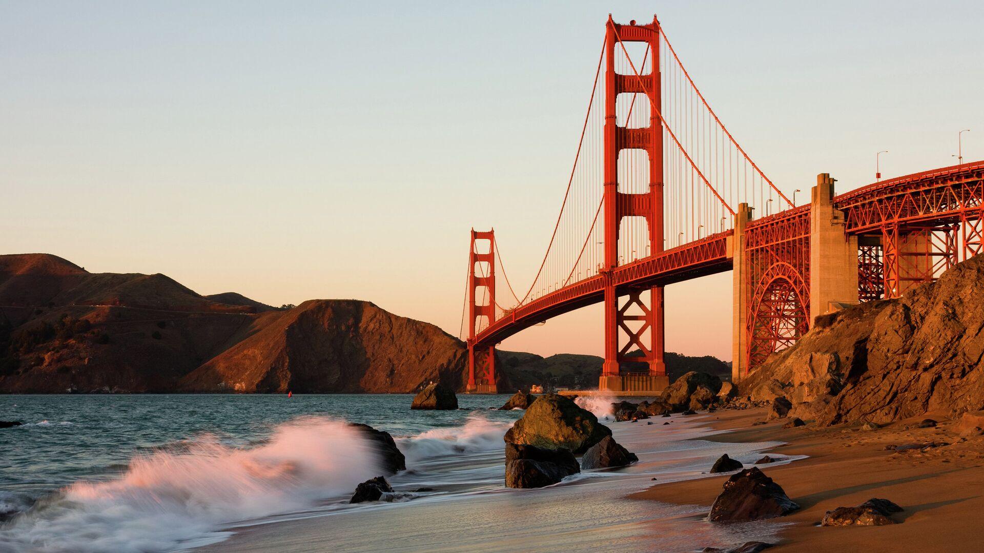 Сан-Франциско, мост Золотые Ворота - РИА Новости, 1920, 10.09.2020