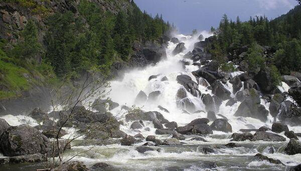 Большой Чульчинский водопад (Учар)