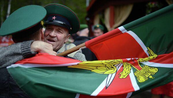 Празднование Дня Пограничных войск в Новосибирске