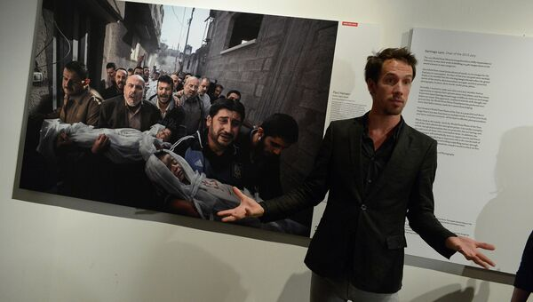 Открытие выставки World Press Photo