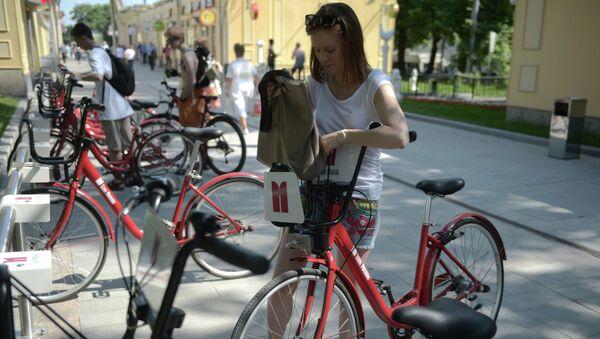 Работа автоматических велопрокатов в Москве
