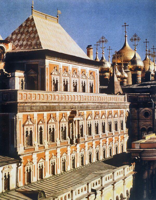 фото теремной дворец строительство дома или