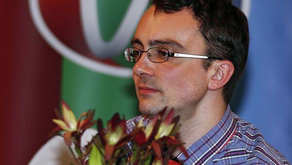 Финалист восьмого сезона премии писатель Вадим Левенталь
