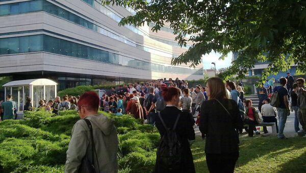 Захват здания парламента Боснии и Герцеговины