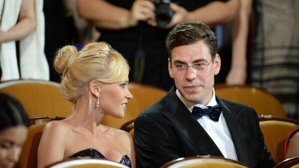 Актер Дмитрий Дюжев с супругой Татьяной. Архивное фото