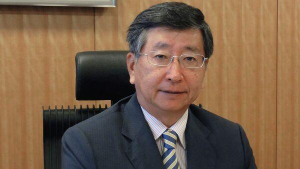 Заместитель министра иностранных дел Японии, шерпа на саммите восьмерки Кодзи Цуруока