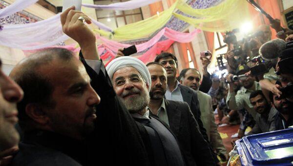 Хассан Роухани на выборах президента Ирана