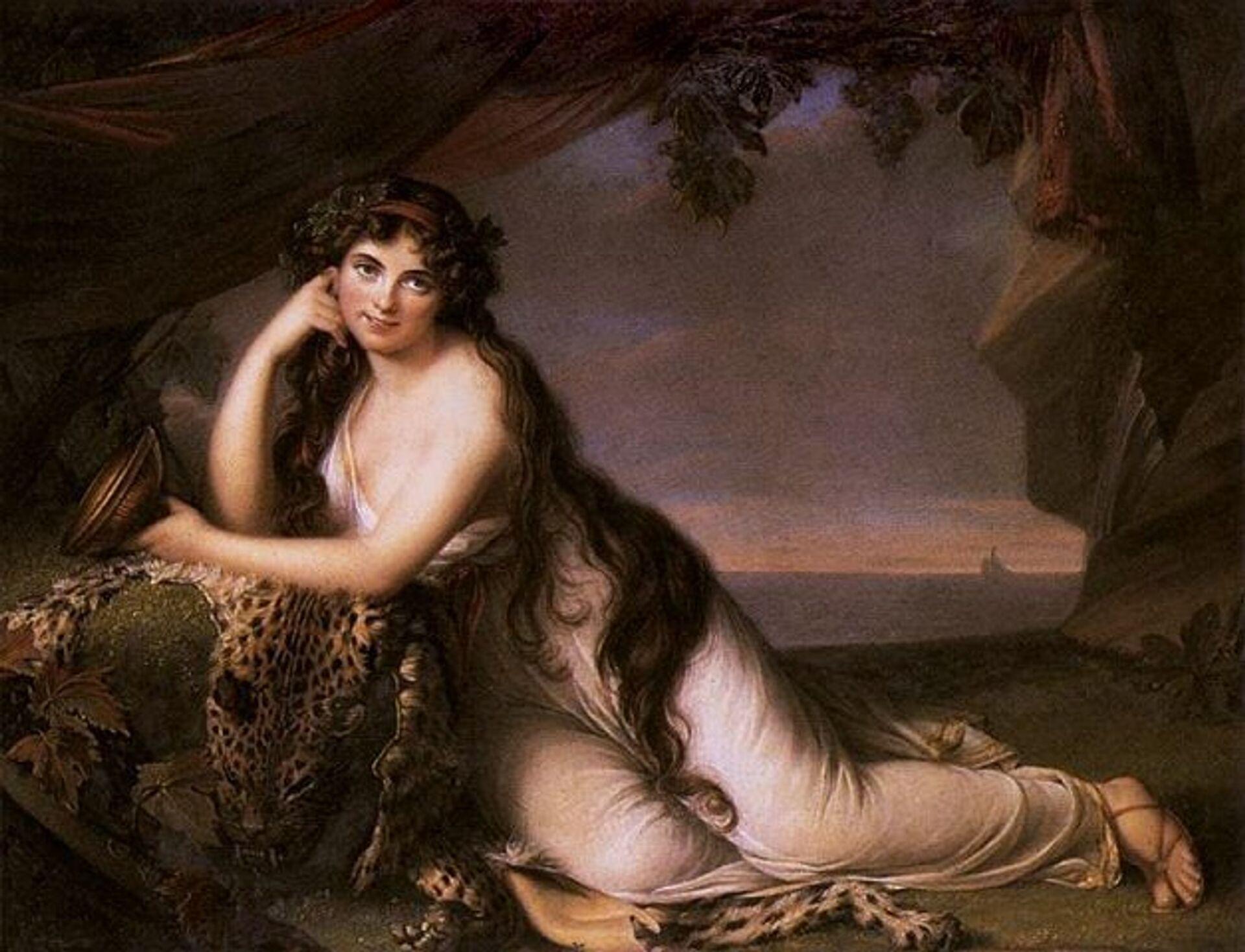 Элизабет Виже-Лебрен. Леди Эмма Гамильтон, 1790 - РИА Новости, 1920, 16.10.2020
