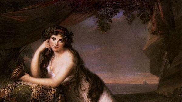 Элизабет Виже-Лебрен. Леди Эмма Гамильтон, 1790