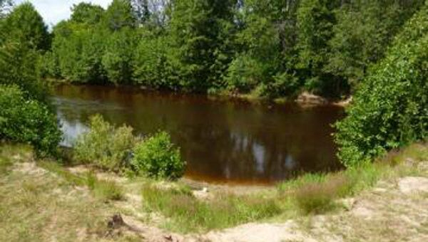 Река Линда в Борском районе Нижегородской области