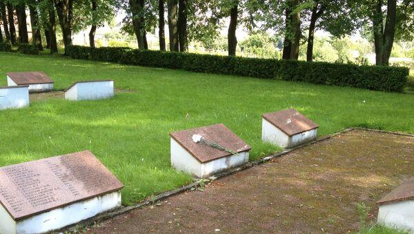 Воинское кладбище в Литве. Архивное фото