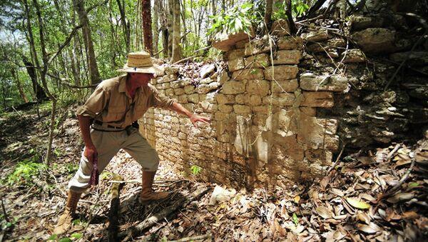Древний город майя в Мексике, обнаруженный археологами