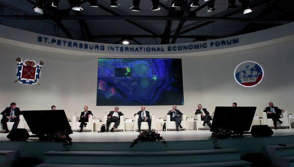 XVII Петербургский международный экономический форум. Архивное фото