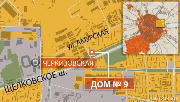 Москва, Щелковское шоссе, дом 9