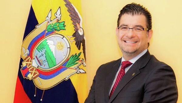 Посол Эквадора в России Патрисио Альберто Чавес Савала. Архивное фото