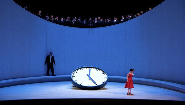 Сцена из оперы Травиата. The Met: Летний сезон 2013