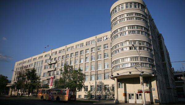 Здание областного правительства в Новосибирске, фото из архива