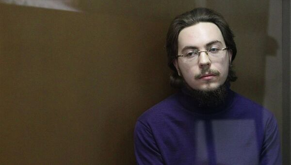Иеромонах Илия (Павел Семин) на судебном заседании в Дорогомиловском суде Москвы, архивное фото
