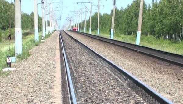 Станция Мухинская в Амурской области, где локомотив сбил пятерых железнодорожников, архивное фото