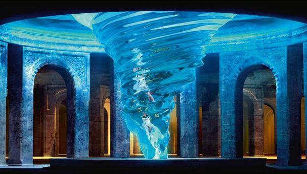 Кадр из 3D-life-мюзикла Пола Негри режиссера Януша Юзефовича
