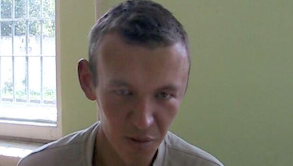 Подозреваемый в убийстве ребенка Дмитрий Смирнов