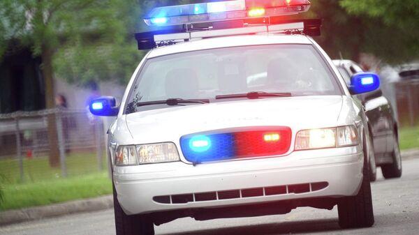 Полицейская машина, архивное фото.
