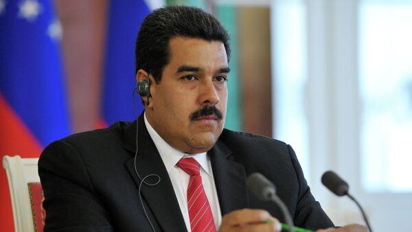 Президент Боливарианской Республики Венесуэла Николас Мадуро. Архив
