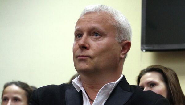 Оглашение приговора по делу банкира А. Лебедева