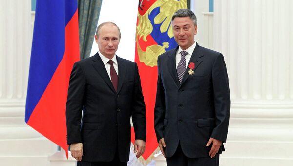 В.Путин вручил государственные награды