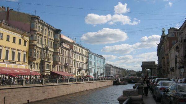 Летний день в Петербурге