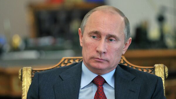 Президент России Владимир Путин встретился с правозащитниками