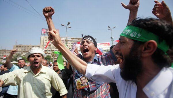 Сторонники свергнутого президента Моххамеда Мурси