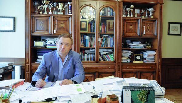 Кандидат в мэры Москвы и губернаторы Подмосковья Глеб Фетисов