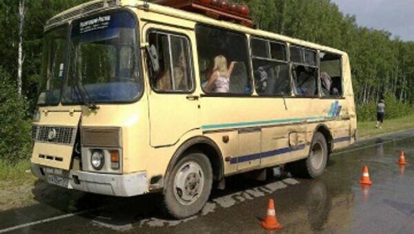 ДТП с участием автобуса в Тульской области